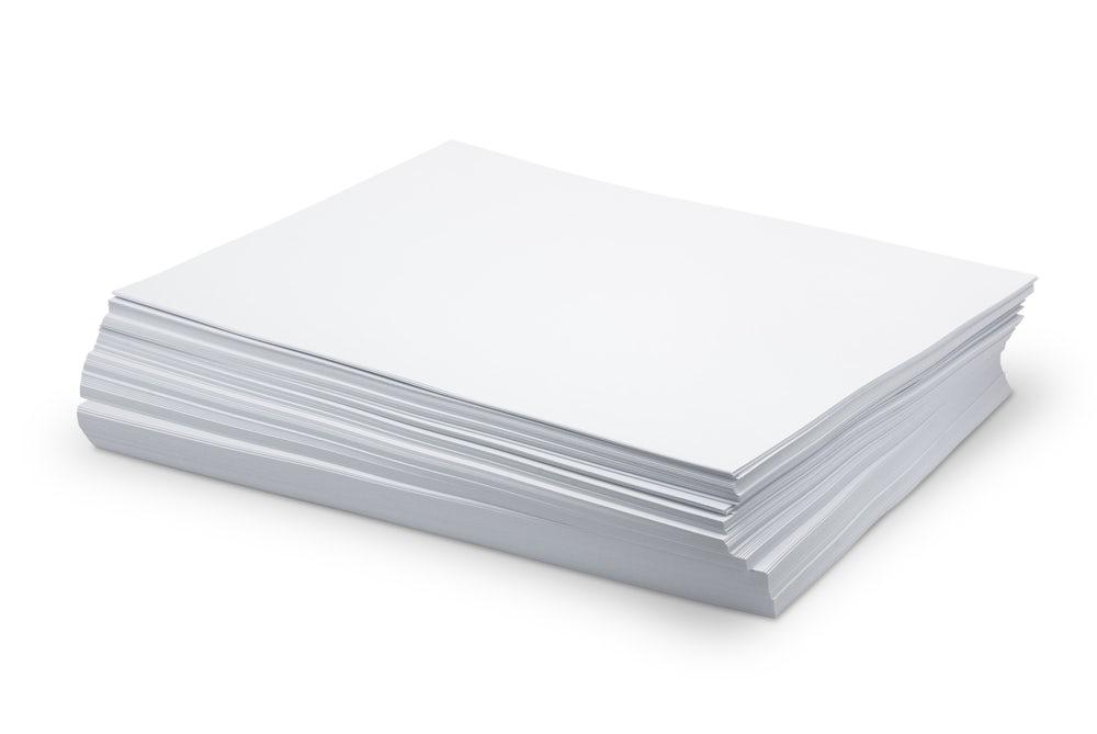 Tipos de papel - Costa Carregal