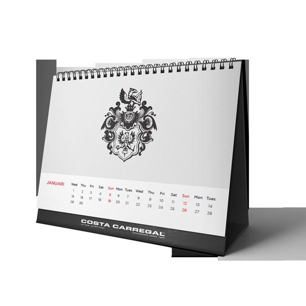Imprimir calendários personalizados - Gráfica no Porto