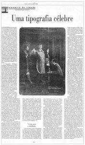 Costa Carregal no Jornal Publico