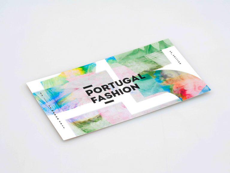 Impressão de Convites Portugal Fashion
