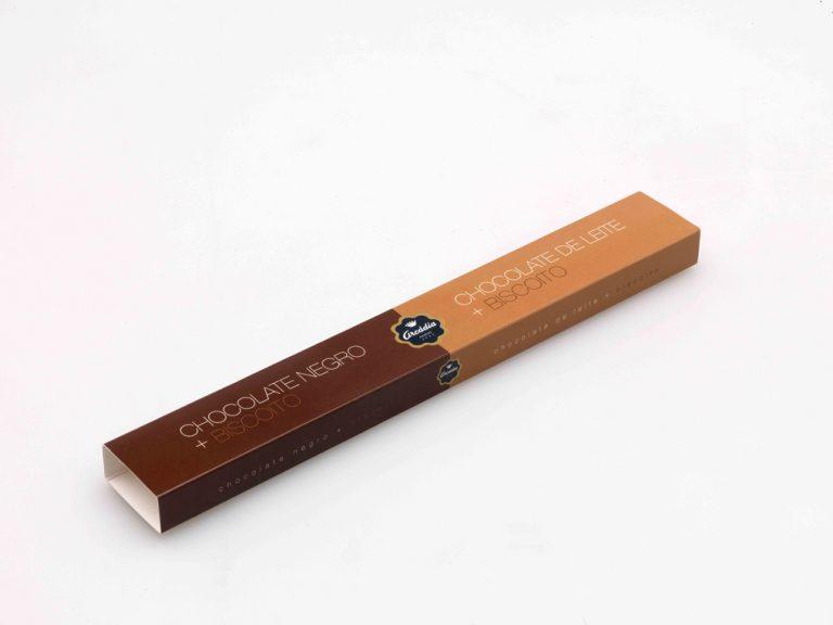 Impressão embalagens arcádia chocolates