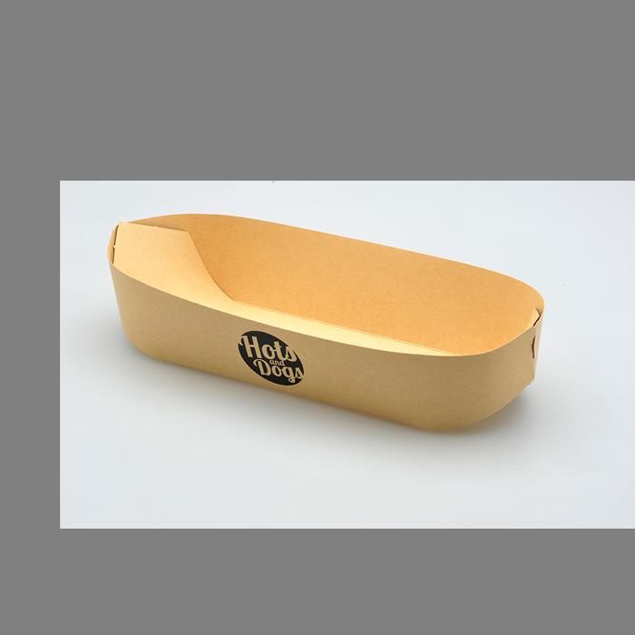 Impressão de embalagens e caixas Hot Dog com papel personalizado - Gráfica no Porto